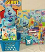 New Blues Clues Easter Toy Gift Basket Birthday Toys Art Books Figure Playset