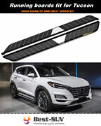 Door Side Step Pedal Running Board Nerf Bar Fit For Hyundai Tucson 2015-2021
