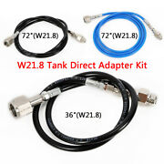 New 36/72durable Pp Hose Tube Kit Tank Direct Adapter Fit Soda Stream Machine