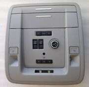 Gm Grey Overhead Roof Console With Homelink Door Opener, Liftgate Knob, Sunroof