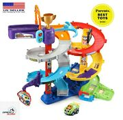 Vtech Go Smart Wheels Ultimate Corkscrew Tower 3 Feet Of Play Fast Shipping