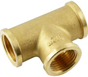 T-piece With Inner Thread Brass Steel Pneumatic Water Fittinge