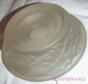 Ashtray R. Lalique New Art Glass Pressed Moulded