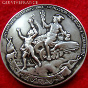 Med2213 - Medal Railways Buenos Aires 1906 By Gottuzo - Silver Medal