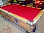 Valley 7 Ft. Coin Op Pool Table Pt277