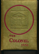 Collegeville Pa Collegeville Trappe High School Yearbook 1951 Pennsylvania 12-7