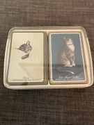 Vintage Chesapeake And Ohio Railway Chessie Cat Playing Cards