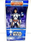 Star Wars Attack Of The Clones 12 Jango Fett Action Figure Collectible 2002