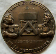 Med1006 - Medal Forged And Building Mediterranean 1962 Skycrest C.shipping