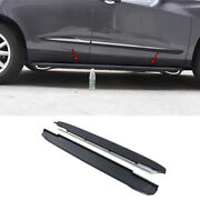 For Acura Rdx 2019-2021 Black Aluminum Side Step Running Board Nerf Bar Protect