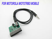 Cable For Motorola Mototrbo Mobile Use Cross Zello And Roip Radio-tone Controller