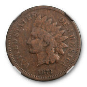 1873 1c Doubled Liberty Indian Head Cent Ddo Ngc Vg 8 Very Good Fs 101
