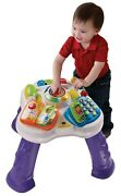 Vtech Sit-to-stand Learn And Discover Table Activity New Toy For Baby Us Stock