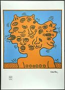 Keith Haring Untitled Signed Lithograph Limited 84/150