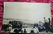 Rare Ill-fated Old Glory Flight Old Orchard Me 1927 Rppc Real Photo Postcard