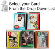 1977 Star Wars Topps Trading Card Sets- 5 Series- U-pick Your Choice Of Sets