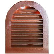 Hammered Copper Tombstone Louvered Gable Wall Vent