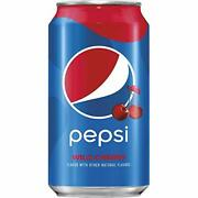 Wild Cherry Pepsi 12 Fl Oz Cans 24 Cans