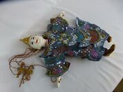 Vintage Indonesia Puppet Doll Balinese Ca. 1970s [y8-w7-a8]