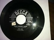 Four Aces 1950s 45 7 Honey On The Horn Organ Grinderand039s Swing Decca 116