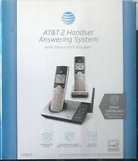 Atandt Cordless Phone Answering Machine System 2 Handsets Cl82207 New In Box ☎️