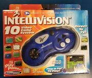 Intellivision 10 Game Video Game System Direct To Tv New Open Box Techno Source