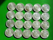 Roll Of Uncirculated 20 Pre 1921 Morgan Silver Dollarand039s Nice Coins