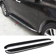 Fit For Acura Mdx 2015-2020 Black Side Step Running Board Nerf Bar Protect 2pcs
