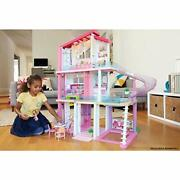 Barbie Dreamhouse Dollhouse With Pool Slide And Elevator