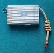 Antique Imperial Russian Greek Personal Silver Cigarette Case King George Greece