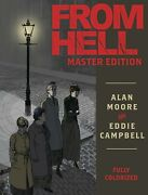 From Hell Master Edition Hardcover Alan Moore And Eddie Campbell Idw Comics Hc