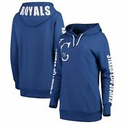 Kansas City Royals G-iii 4her By Carl Banks Womenand039s 12th Inning Pullover Hoodie