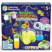 Learning Resources Science Experiments Beaker Creatures Monsterglow Lab Set Stem