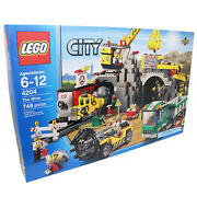 Lego City 4204 The Mine Discontinued By Manufacturer