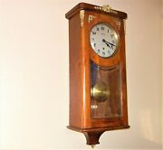 1920and039s French Vedette Chime Wall Clock Westminster Chime Ownerand039s Manual Wow