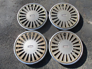 Factory 1983 To 1985 Mazda 626 14 Inch Hubcaps Wheel Covers