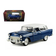 1955 Chevrolet Nomad Blue 1/32 Diecast Car Model By Arko Products 35521bl