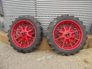 Mccormick Deering Farmall Ih F12 F14 H Tractor 11.2 X 38 Armstrong Tires And Rims