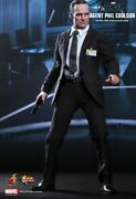 1/6 Hot Toys Mms189 Marvel Avengers Agent Phil Coulson Movie Action Figure