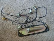 1960 60 Chevy Bel Air Biscayne Tail Light Harness License Plate Light