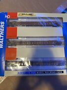 Walthers Ho 53' Nsc 3-unit Well Container Double Stack Ttx Well Cars 620643