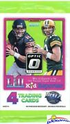2017 Donruss Optic Football Factory Sealed Pack With Rookie Card Mahomes Rc Yr