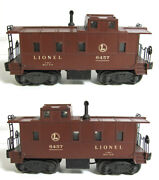 Lionel 6457-0s Lines 6457 Fully Equipped Caboose