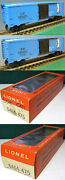 Lionel 6464-475 Type 4 6464-475 Boston And Maine Boxcar Type 4 1965 To 1968