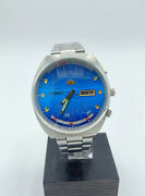 Orologio Watch Orient 21 Jewels Multi Year-month Calendar Automatic Vintage
