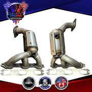 2009 2010 Dodge Journey 3.5l Manifold Catalytic Converter Bank 1 And 2 Direct-fit