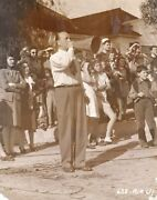Mildred Pierce Original Photograph Of Michael Curtiz On The Set Of The 149678