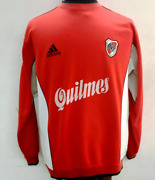 River Plate 1999/2000 Adidas Training Football Soccer Sweat Top Quilmes Size M