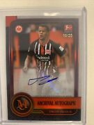 2020 Topps Museum Collection Bundesliga Timothy Chandler Archival Auto /25 Ssp