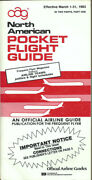 Oag Official Airline Guide North American Pocket Timetable 3/1/83 [1031]